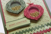 Stampin' Up! Ornament Punch Art / Stampin' Up!, Ornament Punch, Punch Art, Crafts and Cards, Krystal De Leeuw