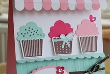 Stampin' Up! Cupcake Punch Art / Stampin' Up!, Cupcake Builder Punch, Punch Art, Crafts and Cards, Krystal De Leeuw
