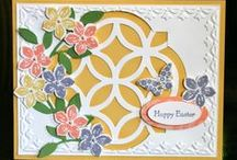Stampin' Up! Lattice Die Ideas / Stampin' Up!, Lattice Die Card and Craft Ideas, Big Shot, Krystal De Leeuw
