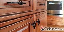 Cabinet Hardware / It is important to consider to consider your kitchen cabinet hardware options. They add final touches to the look of your kitchen. Check out all cabinet hardware we offer here : http://www.cabinets.com/hardware