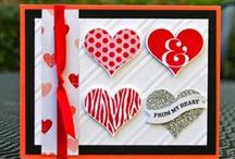 Stampin' Up! Valentines / Valentine's Day projects and ideas using fabulous Stampin' Up! products. Visit my website to place your order: http://www.stampinup.net/esuite/home/krystalscards/ / by Krystal's Cards - Stampin' Up!
