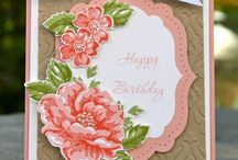Stampin' Up! Birthday / Birthday cards, projects and ideas using fabulous Stampin' Up! products. Visit my website to place your order: http://www.stampinup.net/esuite/home/krystalscards/ / by Krystal's Cards - Stampin' Up!
