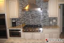 Backsplash Ideas / Backsplash Inspiration / by Kitchen Resource Direct
