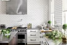 ||| Kitchens ||| / Hot looks for those who love to cook.