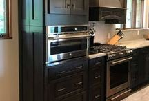 Shaker Style Cabinets / Shaker cabinets bring a clean and classic feel to a space. This style of cabinetry is by far the most popular among kitchen, bathroom, and mud room remodelers.