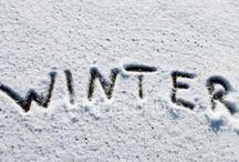Winter. Snow. Stuff. / #FallWinterCategory #BoniBlog / by Boni van Gruijthuijsen