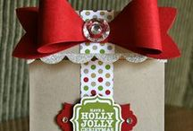 Stampin' Up! Gift Bow Die / by Krystal's Cards - Stampin' Up!