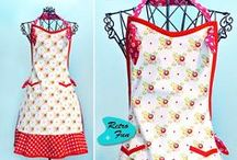 Aprons / ideas and patterns for sewing aprons