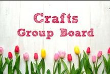 Crafts ~ Group Board / ********Currently this board is closed to new contributors.