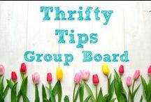 Thrifty Tips ~ Group Board / ********Currently this board is closed to new contributors.   / by Karen ~ SavingTheFamilyMoney.com