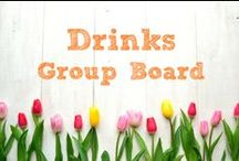 Drinks ~ Group Board / *******Now accepting contributors - email me at info@savingthefamilymoney.com to be added. Please include your PINTEREST PROFILE LINK in the email.  You must be following the board you want to be added to.  The PIN HAS TO BE FOR Drinks.  Look at what is already shared.  ********** Non fitting pins will be deleted.  Please only pin 5 per board, per day.  Pins must link back to original source.  Thanks! http://savingthefamilymoney.com ~ Karen / by Karen ~ SavingTheFamilyMoney.com