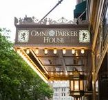 Omni Parker House Weddings / Historic Omni Parker Hotel is the oldest hotel in Boston. We love shooting there!