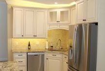 Springfield Cabinets / Springfield cabinets from our assembled Deerfield line. / by Kitchen Resource Direct