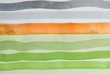 """ART @ TRANSPARENT WATERCOLOR / """"When in doubt, leave it white.""""                                    - Gene Allen / by Joanne Amantea"""