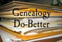 Genealogy Research / ideas, inspiration and instruction for genealogy research