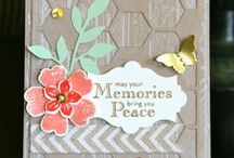 Stampin' Up! Sympathy / Sympathy card ideas using Stampin' Up! products. Visit my website to place your order: http://www.stampinup.net/esuite/home/krystalscards/ / by Krystal's Cards - Stampin' Up!