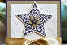 Stampin' Up! Bright and Beautiful / Ideas, cards. projects. gifts, tags, and treat holders using the Stampin' Up! Bright and Beautiful stamp set and coordinating Star Framelits.