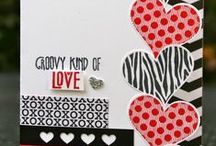 Stampin' Up! Groovy Love / Ideas, cards, and projects using the Groovy Love stamp set and Sweetheart punch from Stampin' Up!
