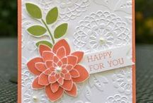 Stampin' Up! Petal Potpourri and Crazy About You / Cards, projects, and ideas using the Petal Potpourri and Crazy About You Stampin' Up! stamp sets and matching Flower Medallion punch.