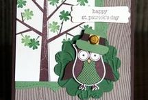 Stampin' Up! St. Patrick's Day / Cards, projects, and other paper-crafting ideas for St. Patrick's Day using Stampin' Up! products. / by Krystal's Cards - Stampin' Up!