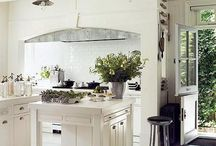 Farmhouse Kitchen / These are not my images unless specified. All rights go to respective owners.