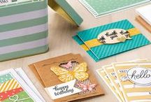 Stampin' Up! Tin of Cards / Handmade cards, craft projects, and gift ideas using the Tin of Cards project kit #138378 pg. 152 and coordinating stamp set #138946 pg. 110 from Stampin' Up! To purchase, please visit my Stampin' Up! website: http://www.stampinup.net/esuite/home/krystalscards/