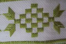 Embroidery_ponto reto, huck, hardanger / ponto reto embroidery, huck weaving, hardanger
