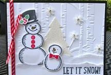 Stampin' Up! Snow Place / Cards, craft projects, and gift ideas using the Stampin' Up! stamp set Snow Place #139738 pg. 33 and the coordinating Snow Friends Framelits dies #139664 pg. 33 in the Handmade for the Holidays Stampin' Up! holiday catalog. to purchase, please visit my Stampin' Up! website: http://www.stampinup.net/esuite/home/krystalscards/