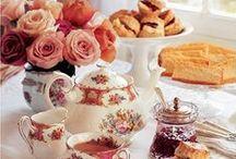 Tea Party / Recipes, themes, table settings...