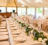 Tented Wedding Receptions / A tent can be a magical place...