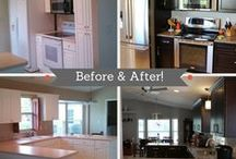 Before & After Kitchens and Bathrooms / This board is all about home makeovers and renovation stories including inspirational before & after photos. / by Cabinets.com