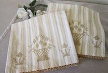 Hope Chest_hand towels / ideas and projects for decorated kitchen hand towels, especially hand made