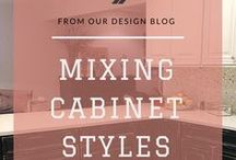 Cabinets.com Blogs / Browse our blog for expert design tips, the latest news on trending styles, and helpful information regarding common renovation dilemmas. Learn about color schemes, hardware options, and gain inspiration for creating your own dream kitchen.