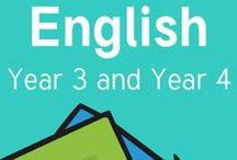 Literacy (Year 3 - Year 4) / English resources and ideas for Key Stage 2 (Year 3 and Year 4).   Literacy Resources, Teaching Literacy, Phonics, Reading, Writing, Communication, Language, Grammar, Spelling, Classroom Displays and much more!