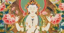 Buddhák növények a mandalában