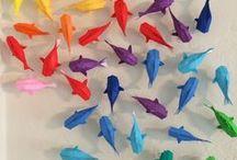 Origami / Tu są rzeczy z papieru xd. :)