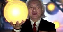 Michio Kaku / I collect his theories, results, researches and everything that is important.