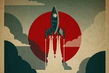 Retro SciFi Posters