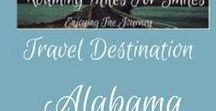 Travel USA Alabama / Alabama Travel Destinations| things to do | Alabama Vacations | Must see Alabama | RVing | http://roamingmilesforsmiles.com | to be added as collaborator join Facebook Group Traveling Pinners