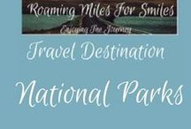 Travel National Parks / National Parks Travel Destinations| things to do | National Park Vacations | Must see National Parks | RVing | http://roamingmilesforsmiles.com | to be added as collaborator join Facebook Group Traveling Pinners