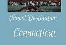 Travel USA Connecticut / Connecticut Travel Destinations| things to do | Connecticut Vacations | Must see Connecticut  | RVing | http://roamingmilesforsmiles.com | to be added as collaborator join Facebook Group Traveling Pinners
