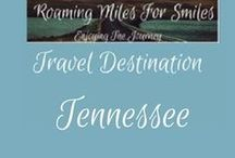 Travel USA Tennessee / Tennessee Travel Destinations| things to do | Tennessee Vacations | Must see Tennessee | RVing | http://roamingmilesforsmiles.com | to be added as collaborator join Facebook Group Traveling Pinners