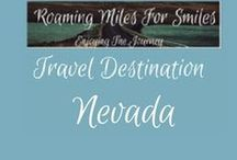 Travel USA Nevada / Nevada Travel Destinations| things to do Nevada | Weekend Getaway Nevada | Nevada Vacations | Must see Nevada | RVing | http://roamingmilesforsmiles.com | to be added as collaborator join http://Facebook.com/Group/TravelingPinners