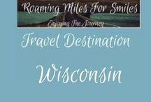 Travel USA Wisconsin / Wisconsin Travel Destinations| things to do Wisconsin | Travel Destinations Wisconsin | things to do | Wisconsin Vacations | Must see Wisconsin | RVing | http://roamingmilesforsmiles.com | to be added as collaborator join http://Facebook.com/Group/TravelingPinners