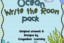 Ocean Theme / I love everything about the ocean.... / by Crayonbox Learning