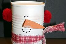 Snowmen / Snowman decor, crafts, and food items / by Crayonbox Learning