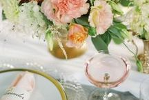 Table Setting - Spring and Summer / by hometweethome