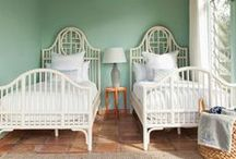 Cute Twin Bedrooms / by House of Turquoise
