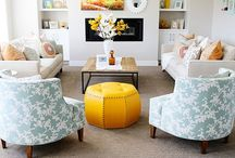 Home Decor: Living Room / If the kitchen is the heart of the home. Then the living room has to be the lungs.  / by Jenna Kane