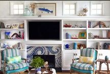 TV Rooms / by House of Turquoise
